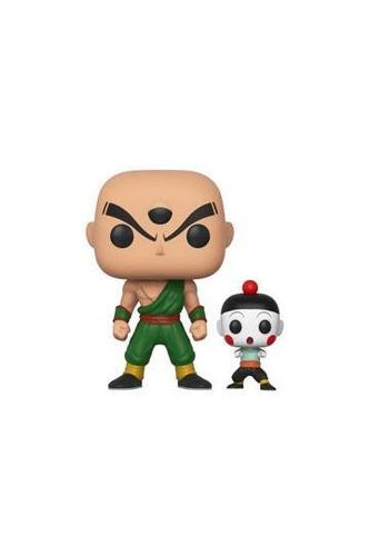 Dragonball Z Figura POP! Animation Vinyl Tien Shinhan & Chiaotzu 9 cm