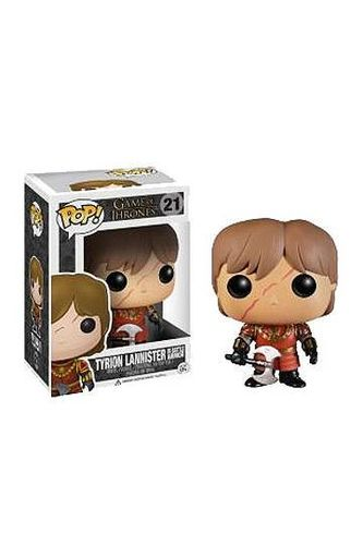 Juego de Tronos POP! Vinyl Figura Tyrion in Battle Armour 10 cm