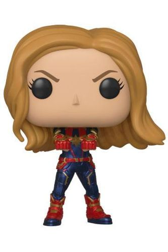 Vengadores Endgame Figura POP! Movies Vinyl Captain Marvel 9 cm