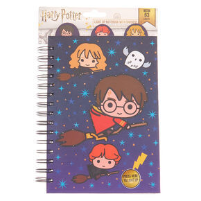 Libreta con luces cabezones harry potter