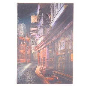 Libreta en 3 dimensiones harry potter
